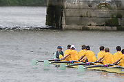 """Mortlake/Chiswick, GREATER LONDON. United Kingdom Cambridge University Boat  Club, 2nd Eight, """"Goldie"""" Pre Boat Race Fixture  Thames RC. 2017 Boat Race The Championship Course, Putney to Mortlake on the River Thames.<br /> <br /> {DOW}  {DATE}<br /> <br /> [Mandatory Credit; Peter SPURRIER/Intersport Images]"""