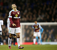 Burnley's Matthew Lowton looks on dejected during the Premier League match at White Hart Lane Stadium, London. Picture date December 18th, 2016 Pic David Klein/Sportimage