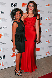 Actors (L-R) MIRANDA TAPSELL and SHARI SEBBENS attends 'The Sapphires' premiere during the 2012 Toronto International Film Festival at The Elgin, Sunday September 9th, 2012. Photo by David Tabor/i-Images.