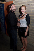 MAT COLLISHAW; POLLY MORGAN, Prada Congo Benefit party. Double Club. Torrens Place. Angel. London. 2 July 2009.
