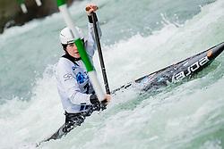 Michaela CORCORAN (USA) during Canoe Semi Finals at World Cup Tacen, 18 October 2020, Tacen, Ljubljana Slovenia. Photo by Grega Valancic / Sportida