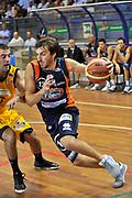 DESCRIZIONE : Novara Lega A2 2009-10 Campionato Miro Radici Fin. Vigevano - Fileni Jesi<br /> GIOCATORE : Ndoja Klaudio<br /> SQUADRA : Jesi<br /> EVENTO : Campionato Lega A2 2009-2010<br /> GARA : Miro Radici Fin. Vigevano Fileni Jesi<br /> DATA : 04/10/2009<br /> CATEGORIA : Penetrazione<br /> SPORT : Pallacanestro <br /> AUTORE : Agenzia Ciamillo-Castoria/D.Pescosolido