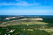 Nederland, Gelderland, Gemeente Ede, 09-06-2016; Harskamp, Harskampsche Zand, militair oefenterrein en schietterrein.<br /> Military training and shooting range.<br /> luchtfoto (toeslag op standard tarieven);<br /> aerial photo (additional fee required);<br /> copyright foto/photo Siebe Swart