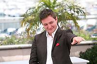 Director Juan Andrés Arango,  at La Playa DC photocall at the 65th Cannes Film Festival France. Thursday 24th May 2012 in Cannes Film Festival, France.