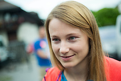 Ana Drev at departure of Slovenian Women Ski Team to training camp in Argentina on August 5, 2014 in SZS, Ljubljana, Slovenia. Photo by Vid Ponikvar / Sportida.com