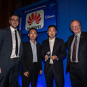 Huawei winner of Best 5G Core Network Technology of the 5G Awards ceremony at Drapers' Hall, on 12 June 2019, London, UK.