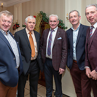 Donal Moloney, Chairman, Pat Connellan, Committee Member, Michael Sexton, Committee Member John Shannon , PRO,  and John Joe O'Sullivan, Treasurer at the Clare Limousin Breeders Annual Dinner Dance at the Bellbrige Hotel, Spanish Point on Saturday night