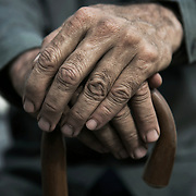 Staged image for Action against elder abuse.