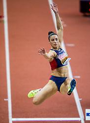 04-02-2017  SRB: European Athletics Championships indoor day 2, Belgrade<br /> Ivana Spanovic of Serbia - verspringen