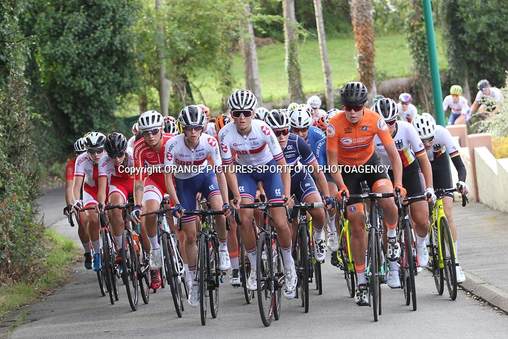 26-08-2020: Wielrennen: EK wielrennen: Plouay26-08-2020: Wielrennen: EK wielrennen: Plouay