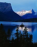 St. Mary Lake, Glacier National Park, Montana.