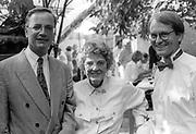 Bürgermeister Thomas Schadow | Schauspielerin Lia Wöhr | Pfarrer Ralf-Andreas Gmelin. Bilder für den Oberurseler  Kurier fotografiert in den Jahren von 1988-1994.