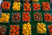 Fruits at the Pasadena Farmers' Market in Los Angeles, California.