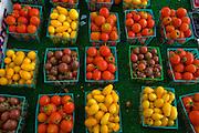 Fruits at the Pasadena Farmers' Market in Los Angeles, California.