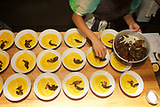Brooklyn, NY - August 31, 2017: Zardosht, a Persian Pop-up dinner hosted by Soli Zardosht, at Williamsburg's Brooklyn Kitchen.<br /> <br /> Credit: Clay Williams for Gothamist.<br /> <br /> © Clay Williams / http://claywilliamsphoto.com