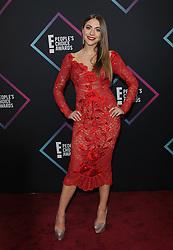 2018 People's Choice Awards. 11 Nov 2018 Pictured: Claudia Vergara. Photo credit: Jaxon / MEGA TheMegaAgency.com +1 888 505 6342