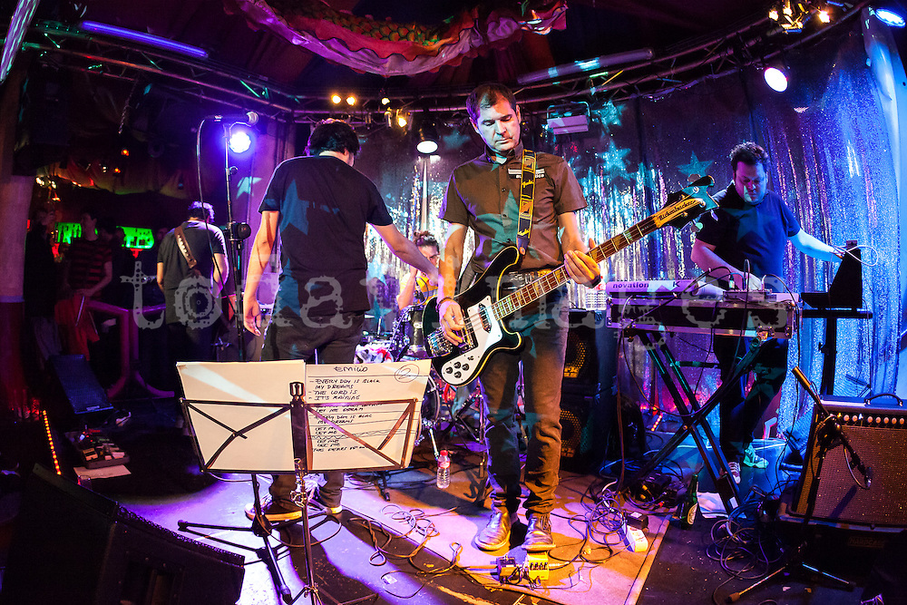 Automatics performing at Taboo Club in Madrid