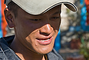Assistant guide Neem (or Nim), who works with Himalayan World Adventure, in Nepal.