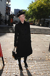 LADY FRANCES ARMSTRONG-JONES at the memorial service of Isabella Blow held at the Guards Chapel, London W1 on 18th September 2007.<br /><br />NON EXCLUSIVE - WORLD RIGHTS