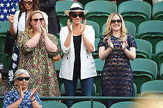 Duchess Of Sussex At Wimbledon - 4 July 2019