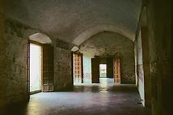 Tourist Site Inside Old Building