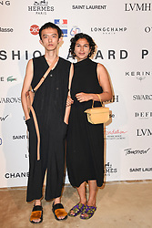 Wei Hung Chen and Raiheth Rawla attending the ANDAM Fashion Awards 2019 Ceremony at the Ministry of Culture in Paris, France on June 27, 2019. Photo by Mireille Ampilhac/ABACAPRESS.COM