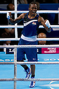 Mcc0055084 . Daily Telegraph<br /> England's Nicola Adams wins Gold in the Women's Fly (48 - 51kg)  on Day 10 of the 2014 Commonwealth Games in Glasgow .<br /> <br /> <br /> Glasgow 2 August 2014