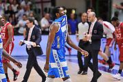 DESCRIZIONE : Campionato 2014/15 Dinamo Banco di Sardegna Sassari - Olimpia EA7 Emporio Armani Milano Playoff Semifinale Gara6<br /> GIOCATORE : Shane Lawal<br /> CATEGORIA : Ritratto Delusione<br /> SQUADRA : Dinamo Banco di Sardegna Sassari<br /> EVENTO : LegaBasket Serie A Beko 2014/2015 Playoff Semifinale Gara6<br /> GARA : Dinamo Banco di Sardegna Sassari - Olimpia EA7 Emporio Armani Milano Gara6<br /> DATA : 08/06/2015<br /> SPORT : Pallacanestro <br /> AUTORE : Agenzia Ciamillo-Castoria/L.Canu