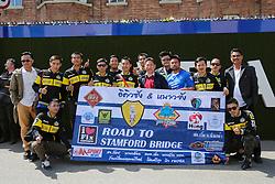 Road to Stamford Bridge, Chelsea fans - Mandatory byline: Jason Brown/JMP - 15/05/2016 - FOOTBALL - London, Stamford Bridge - Chelsea v Leicester City - Barclays Premier League