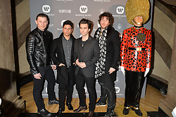 Members of The Stereophonics at the Warner Music Brit Party held at the Freemason's Hall, 60 Great Queen Street, London on 25th February 2015.