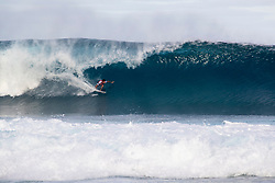 December 16, 2018 - Pupukea, Hawaii, U.S. - Felipe Toledo of Brazil advances to round 3 after placing first in round 2 heat 1 of the Billabong Pipe Masters. (Credit Image: © Tony Heff/WSL via ZUMA Wire)