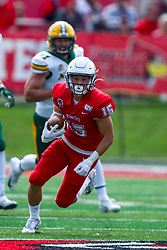 NORMAL, IL - October 05: Kacper Rutkiewicz during a college football game between the ISU (Illinois State University) Redbirds and the North Dakota State Bison on October 05 2019 at Hancock Stadium in Normal, IL. (Photo by Alan Look)