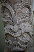 Tiki, with barnicles Hawaii