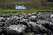 Tigh SgeirGael - built in 2005 – is a self catering cottage sitting just 50 metres from the sea under the magnificent Gribun cliffs at Gribun, Isle of Mull, Scotland. (http://www.accommodationsmull.co.uk/gribun/).