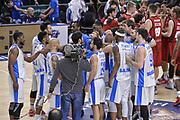 DESCRIZIONE : Eurocup 2015-2016 Last 32 Group N Dinamo Banco di Sardegna Sassari - Cai Zaragoza<br /> GIOCATORE : Team Dinamo Banco di Sardegna Sassari<br /> CATEGORIA : Ritratto Esultanza Postgame<br /> SQUADRA : Dinamo Banco di Sardegna Sassari<br /> EVENTO : Eurocup 2015-2016<br /> GARA : Dinamo Banco di Sardegna Sassari - Cai Zaragoza<br /> DATA : 27/01/2016<br /> SPORT : Pallacanestro <br /> AUTORE : Agenzia Ciamillo-Castoria/L.Canu