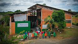 Associação Ecológica dos Recicladores da Ponte Seca (AECO), em Triufo, RS. FOTO: Jefferson Bernardes/ Agência Preview