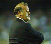 Photo Peter Spurrier<br /> 14/09/2002<br /> 2002 Real Betis vs Real Madrid  - Spanish Liga 1<br /> Real madrid manager/coach - Vincente del Bosque