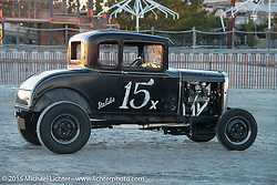Paul Kisarewich's 1930 Ford Model A at the The Race of Gentlemen. Wildwood, NJ, USA. October 11, 2015.  Photography ©2015 Michael Lichter.