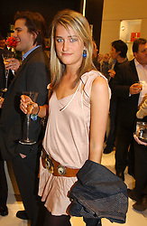 "MISS VIOLET VON WESTENHOLTZ at a party to celebrate the opening of the new Mont Blanc store at 151 Sloane Street, London on 9th March 2005.  The evening was held in conjunction with UNICEF's ""Sign up for the right to write"" campaign which is raising money though the sale of celebraties 'statements' currently for auction on the ebay website.<br />