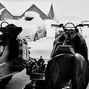 """When you open the garage door first thing in the morning and realize that there is 18"""" of new snow on the ground and it is absolutely dumping, you choose not to immediately snow-blow the driveway but head out for some private powder turns."""