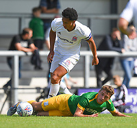 Preston North End's Ryan Ledson in action<br /> <br /> Photographer Dave Howarth/CameraSport<br /> <br /> Football Pre-Season Friendly - AFC Flyde v Preston North End - Saturday July 13th 2019 - Mill Farm - Flyde<br /> <br /> World Copyright © 2019 CameraSport. All rights reserved. 43 Linden Ave. Countesthorpe. Leicester. England. LE8 5PG - Tel: +44 (0) 116 277 4147 - admin@camerasport.com - www.camerasport.com