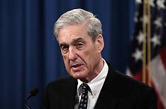 Special counsel Robert Mueller makes a statement at the Justice Department - 29 May 2019