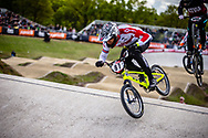 #87 (WHYTE Kye) GBR at Round 4 of the 2019 UCI BMX Supercross World Cup in Papendal, The Netherlands