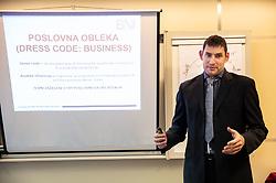 Srecanje BNI Mostovi, on February 20, 2019 in GZS, Ljubljana, Slovenia. Photo by Vid Ponikvar / Sportida