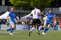 May 20, 2017 - Toronto, Ontario, Canada - QUENTIN LAULU-TOGAGA'E (1) in action during the Rugby League game between  game between Toronto Wolfpack and Barrow Raiders (Credit Image: © Angel Marchini via ZUMA Wire)