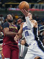 Cleveland Cavaliers v Orlando Magic - 13 Oct 2017
