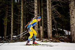 Emma Nilsson (SWE) during Women 15km Individual at day 5 of IBU Biathlon World Cup 2018/19 Pokljuka, on December 6, 2018 in Rudno polje, Pokljuka, Pokljuka, Slovenia. Photo by Ziga Zupan / Sportida