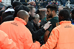 November 3, 2018 - Reims, France - 15 YOUSSEF AIT BENNASSER (MONA) - SUPPORTERS - COLERE - ALTERCATION (Credit Image: © Panoramic via ZUMA Press)