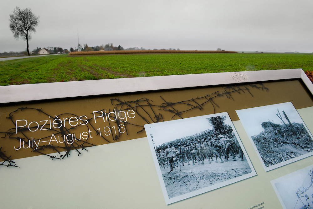 The Battle of Pozières was a two week struggle (23 July – 7 August 1916) by British and Australian divisions for the capture of the village of Pozieres during  the 1916 battle of the Somme.