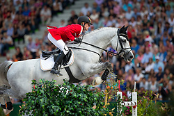 Marcus Ehning, (GER), Cornado NRW - World Champions, - Second Round Team Competition - Alltech FEI World Equestrian Games™ 2014 - Normandy, France.<br /> © Hippo Foto Team - Leanjo De Koster<br /> 25/06/14